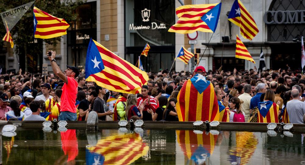 Protestas en Barcelona