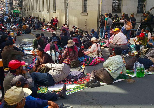 La movilización de los movimientos campesinos, indígenas, mineros y urbanos