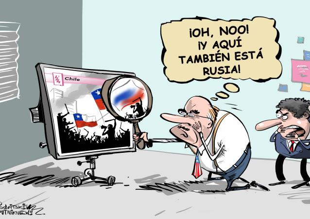 Sin lupa no vale: EEUU encuentra la huella rusa en las protestas en Chile