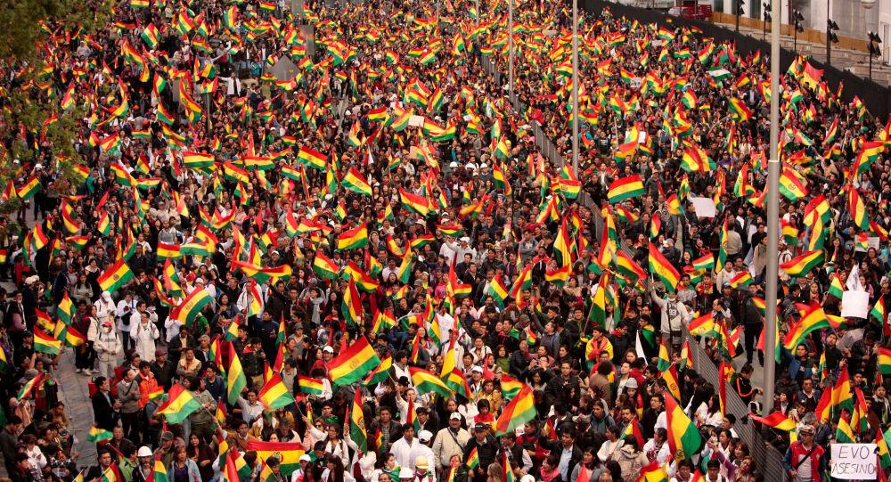 Las protestas en contra de la reelección de Evo Morales en Bolivia