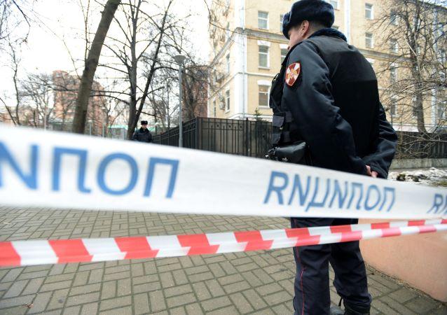 Policía de Moscú (Archivo)