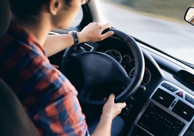 Conductor de un auto