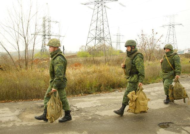 La retirada de las tropas en Donbás