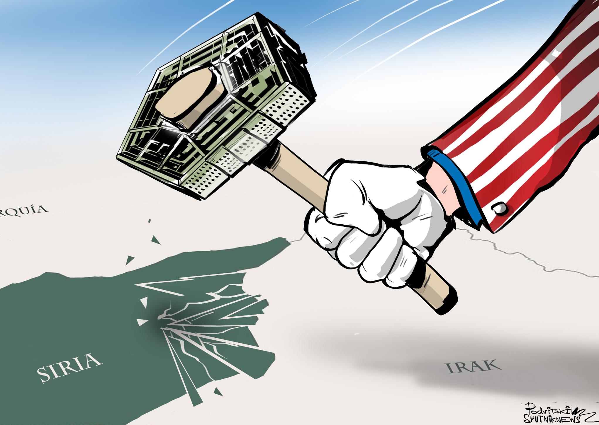 ¿Quieres destruir un país? Construye una base estadounidense