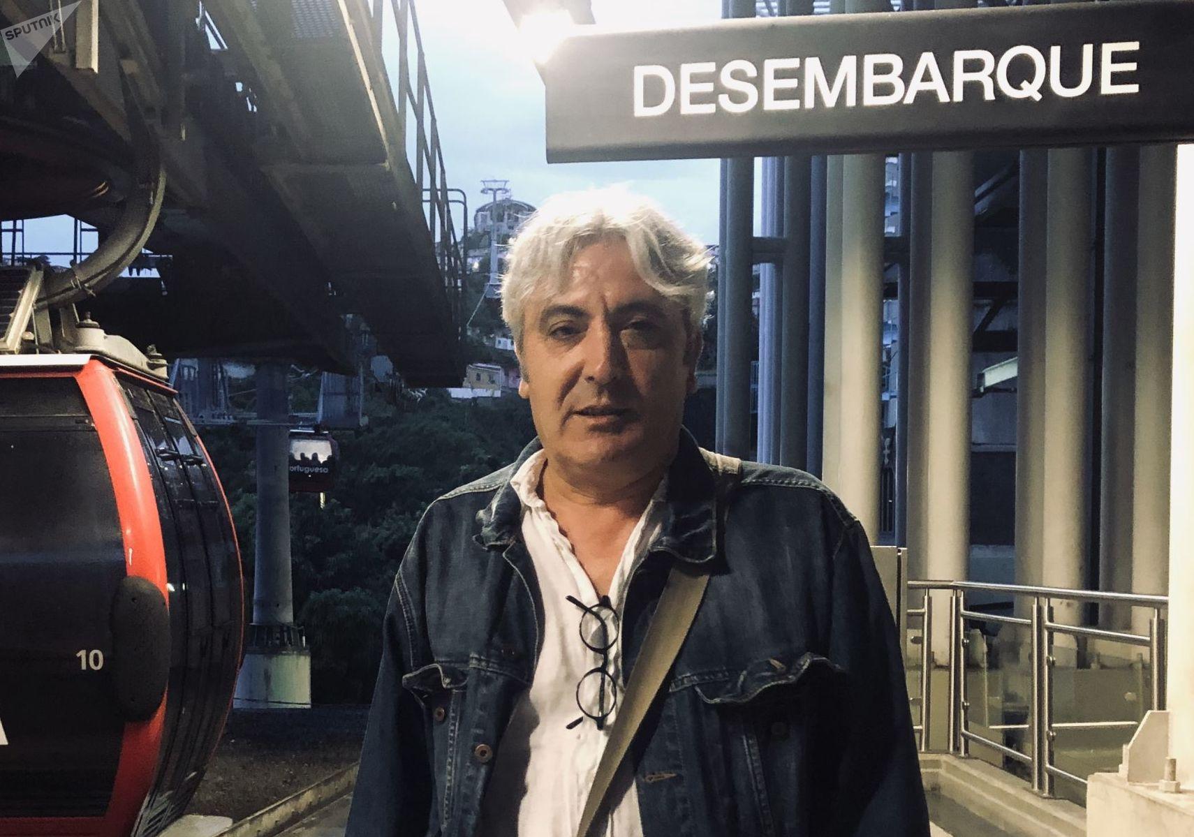 Miguel Rollón, poeta español en Caracas