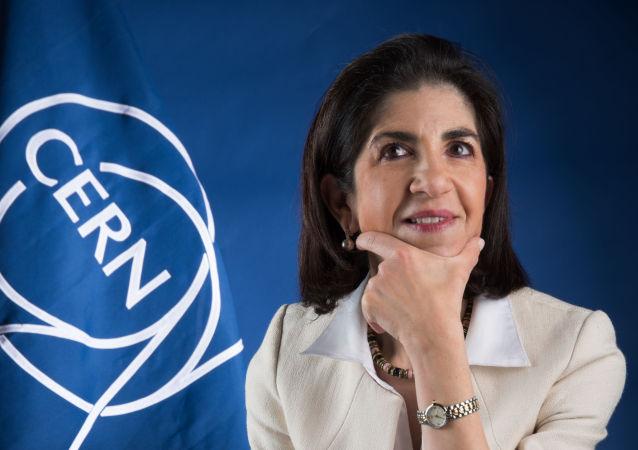 Fabiola Gianotti, directora general del CERN