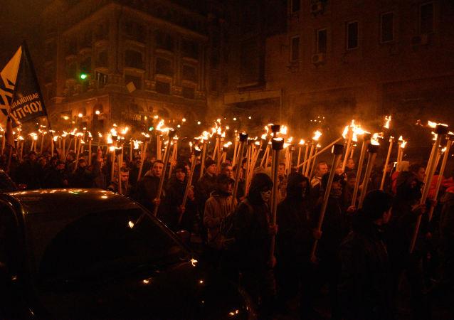 Neonazismo en Ucrania (Archivo)