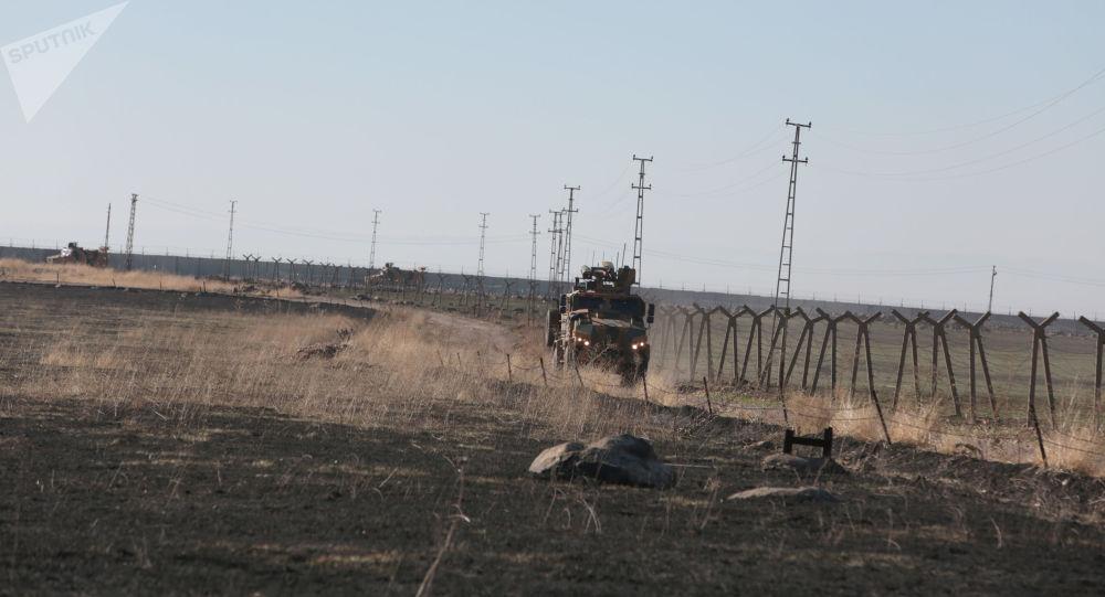 Patrullaje ruso-turco en el norte de Siria