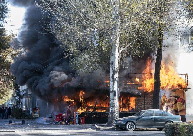 Explosión en Biskek, Kirguistán