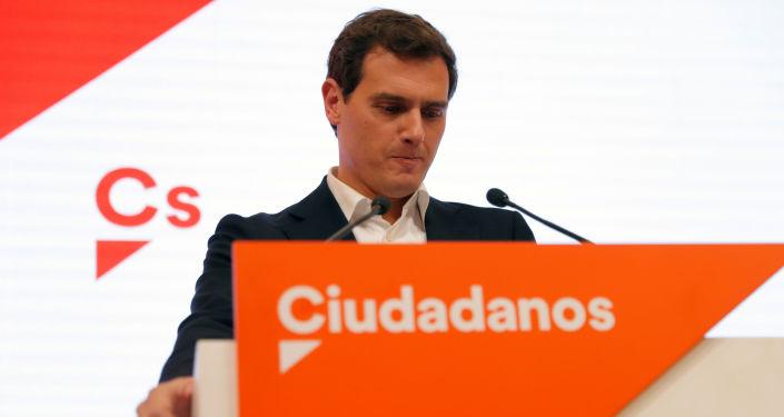 Albert Rivera, exlíder del partido político español Ciudadanos