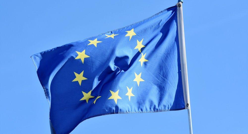 La bandera de la UE (imagen referencial)