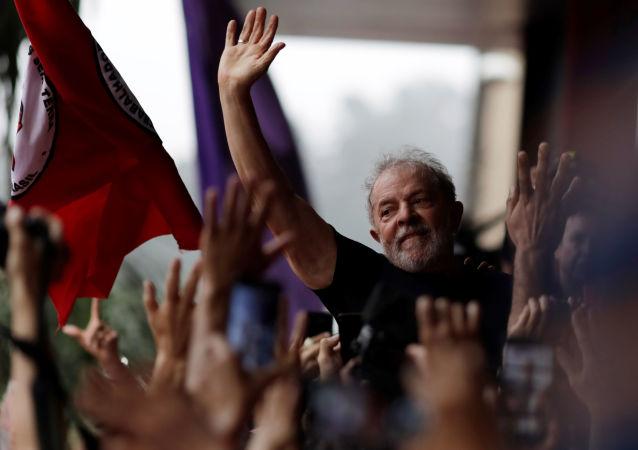 Luiz Inácio Lula da Silva, el expresidente brasileño