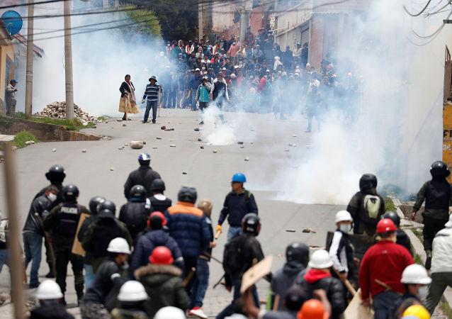 Situación en Bolivia