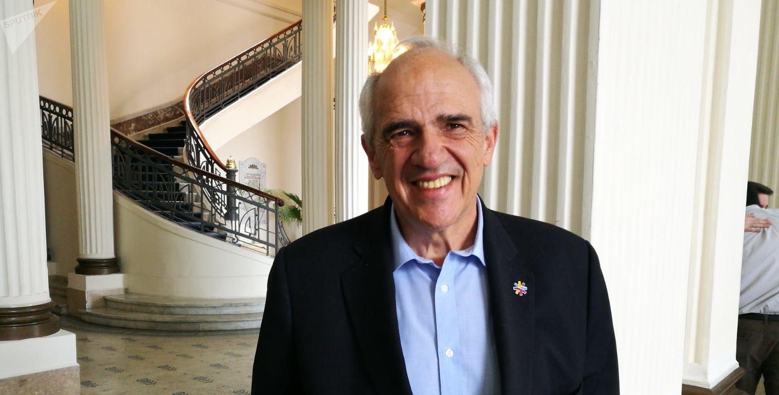 Ernesto Samper, expresidente de Colombia y ex secretario general de UNASUR