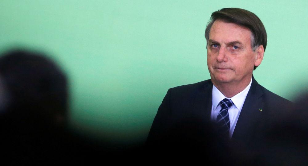 Jair Bolsonaro, presidente brasileño