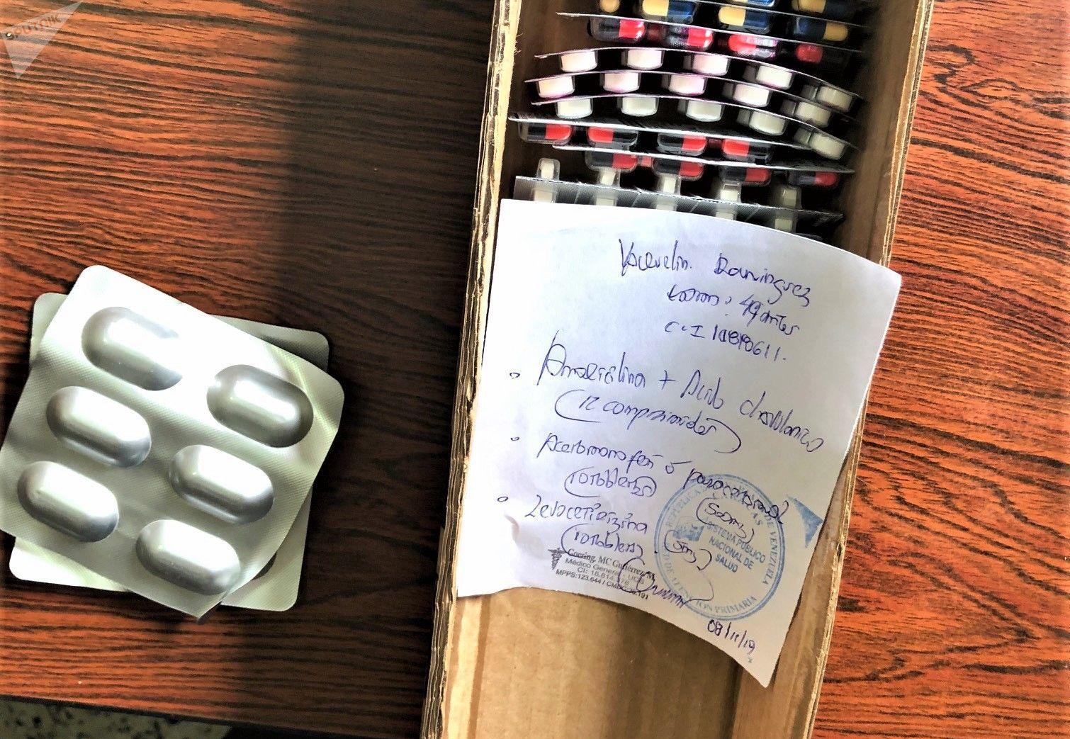 Medicamentos de la farmacia comunal Altos de Lídice