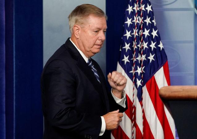 Lindsey Graham, senador estadounidense
