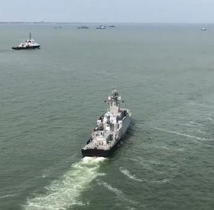 Rusia celebra el Día de la Flotilla del Caspio