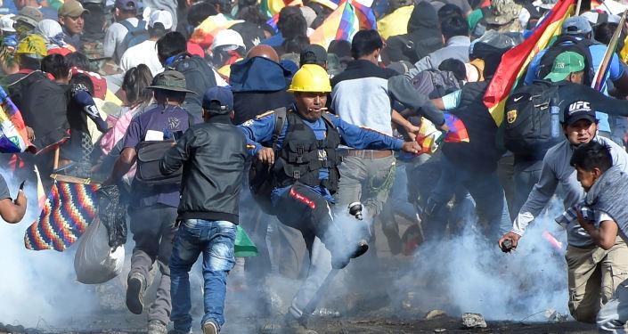 Protestas en Cochabamba, Bolivia