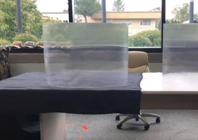 Un material capaz de hacer que las cosas sean invisibles