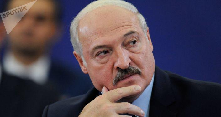 Alexandr Lukashenko, el presidente de Bielorrusia
