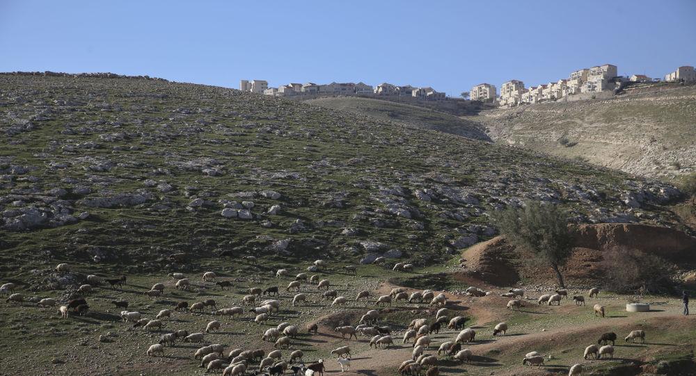 Un asentamiento israelí en Cisjordania (archivo)