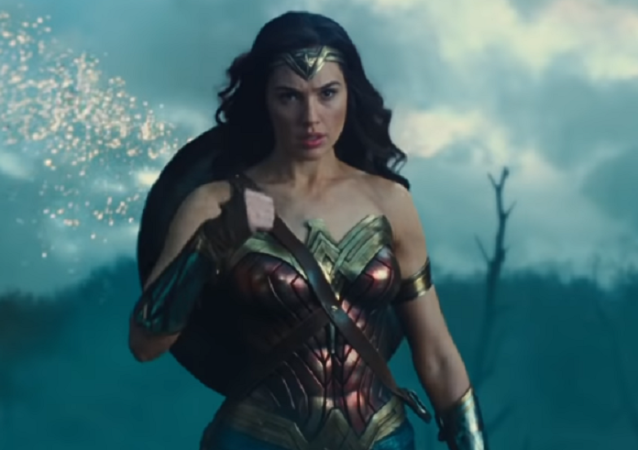 Wonder Woman, captura de pantalla