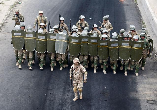 Fuerzas de seguridad de Bolivia