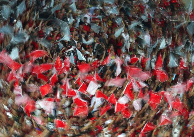 Hinchas de Flamengo (Archivo)