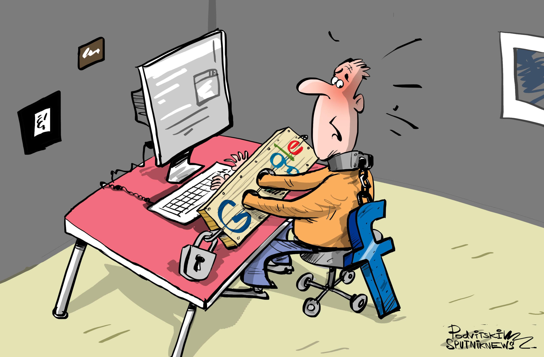 ¡Basta de la dictadura y la vigilancia de Google y Facebook!