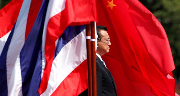 Primer ministro chino, Li Keqiang, en Bangkok, Tailandia (archivo)