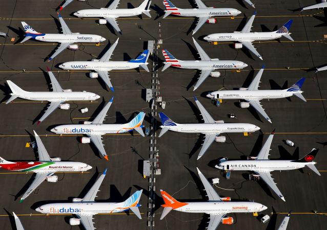 Los aviones retirados Boeing 737 MAX