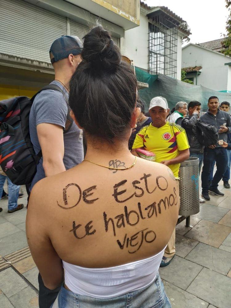 Rechazo de los colombianos al Gobierno de Iván Duque