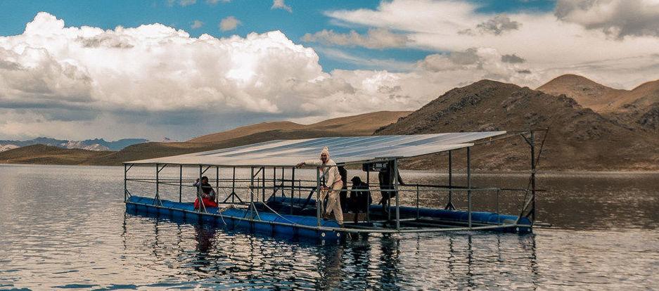 La comunidad Chullpia en Perú ha desarrollado paneles solares para suministrar electricidad en los proyectos de irrigación