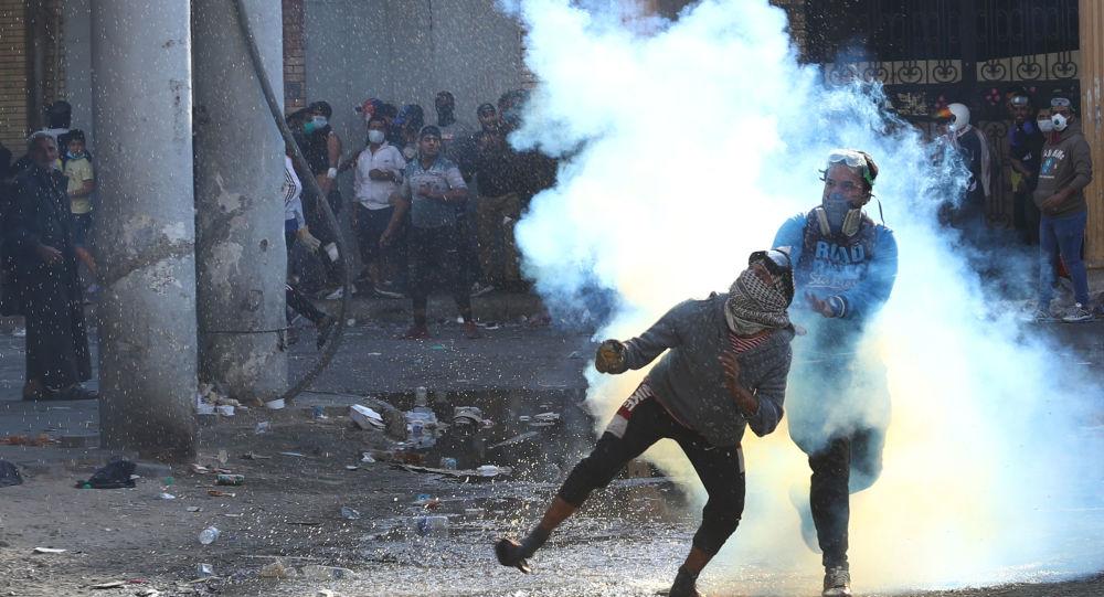 Protestas en Bagdad, Irak