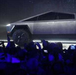 El Cybertruck de Tesla
