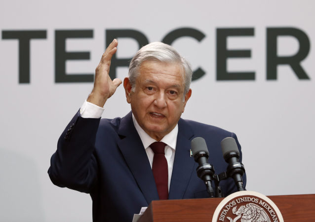 Andrés Manuel López Obrado, presidente mexicano