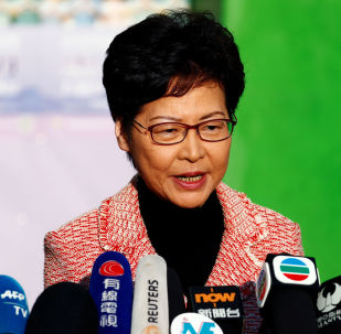 Carrie Lam, jefa de la Administración de Hong Kong