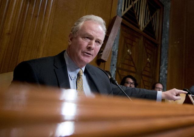 Christopher Van Hollen, político estadounidense (archivo)