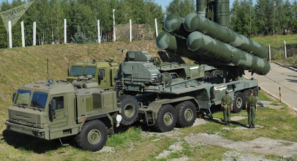 Sistemas antiaéreos S-400