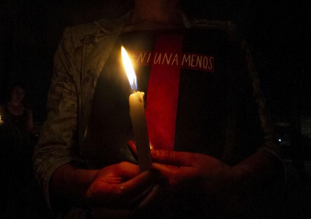 Ciudad de México conmemora con una velada a las víctimas de feminicidio