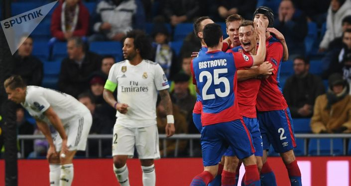 Real Madrid - CSKA Moscú, 0-3