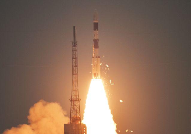 Cohete PSLV-C47 de la India