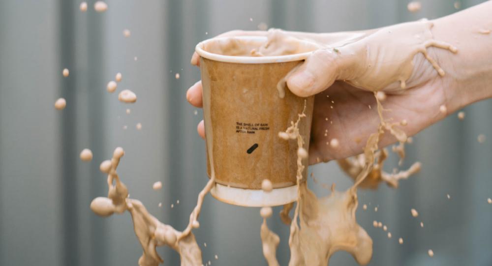 Un vaso de café, imagen referencial