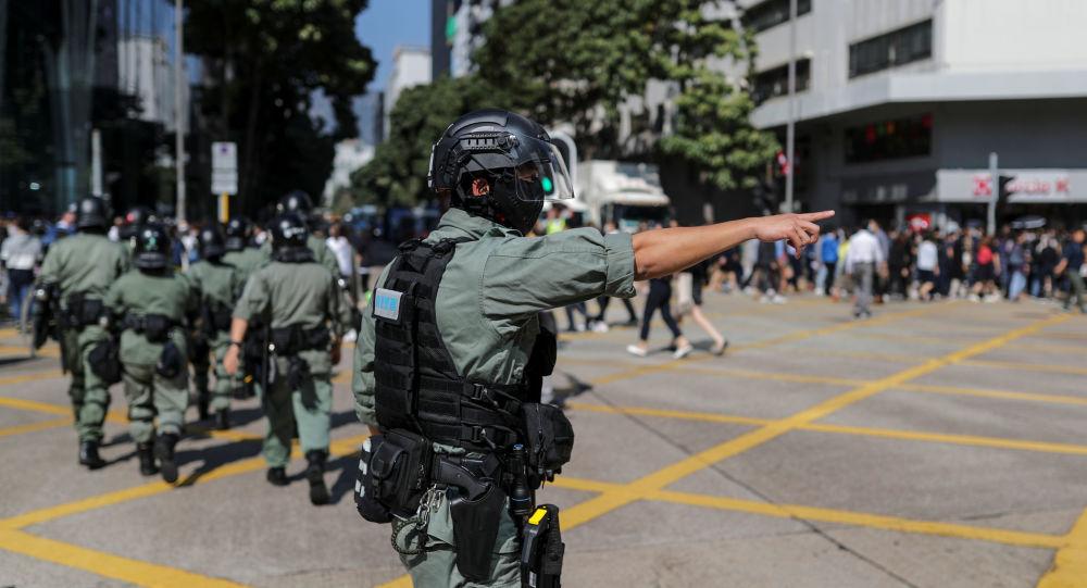 Policía de Hong Kong