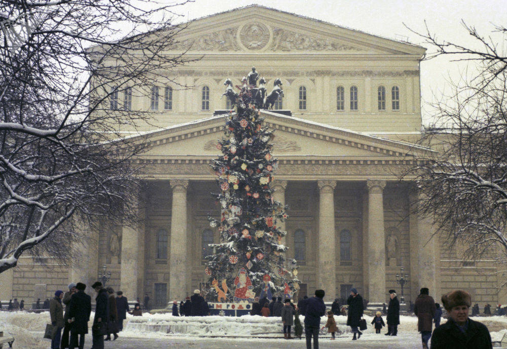 Cómo la URSS celebraba su fiesta favorita, la Nochevieja