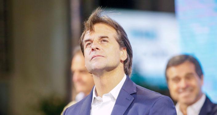Luis Alberto Lacalle Pou, presidente electo de Uruguay