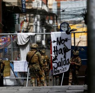 Los militares en Bolivia