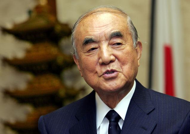 Yasuhiro Nakasone, ex primer ministro de Japón