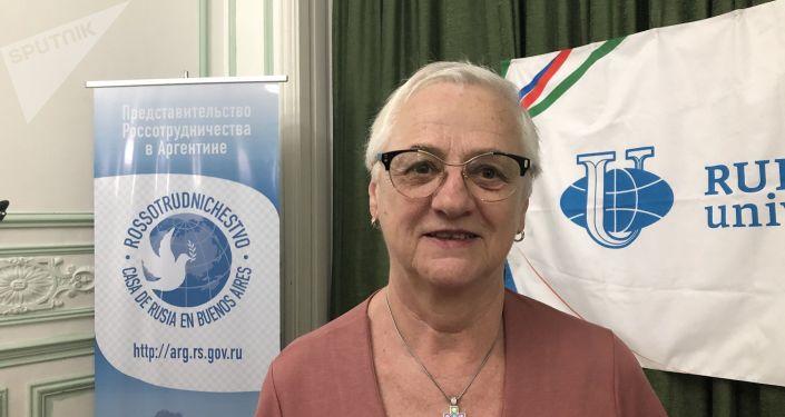 Silvia Maraczuk, estudió en Varsovia y Moscú